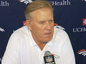 Watch: Elway: Expectations haven't changed