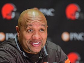 Watch: Hue Jackson: 'Chad wants to try his hand at coaching'
