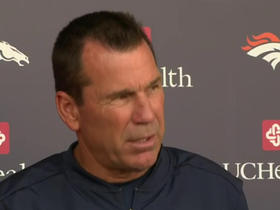 Watch: Broncos' Kubiak gives a training camp update