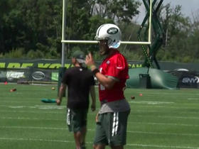 Watch: Fitzpatrick takes the field for day 1 of training camp