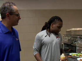 Watch: Michael Silver tours Broncos training camp cafeteria