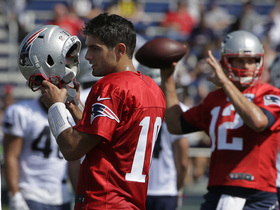 Watch: Analyzing Jimmy Garoppolo, Tom Brady splitting first-team reps