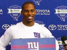 Watch: Victor Cruz on being back