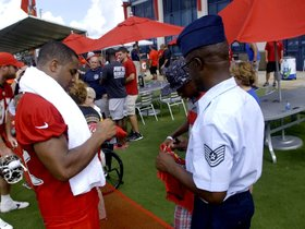Watch: Watch: Bucs Host Military Appreciation Day