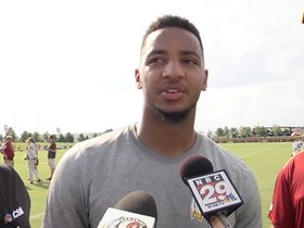 Watch: Josh Doctson Not 'Frustrated' By Injury