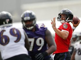 Watch: Top Play: Flacco Throws Dart To Pitta In Traffic