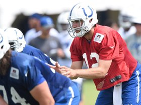 Watch: Coach Pagano On Andrew Luck: Day Three
