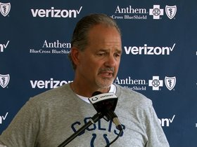 Watch: Coach Pagano Full Press Conference: Day Three