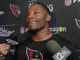Watch: Johnson: 'I Like The Pressure'