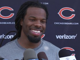 Watch: White talks injury recovery