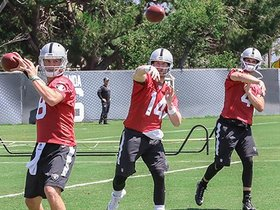 Watch: Offseason Workouts: Quarterbacks