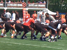 Watch: Training camp highlights: Cleveland Browns