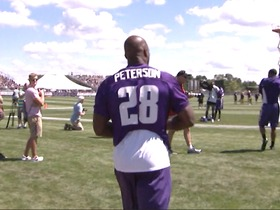 Watch: Training camp highlights: Minnesota Vikings
