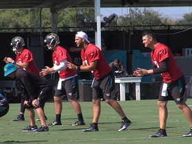 Watch: Training camp highlights: Jacksonville Jaguars