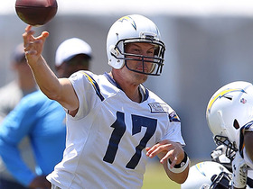 Watch: Watch Philip Rivers nail a trick shot at Chargers camp