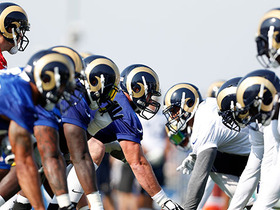 Watch: Rams hold first practice of training camp