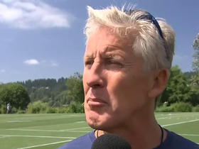 Watch: Pete Carroll on Michael Bennett; When he's here, we're better.