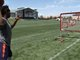 Watch: Brandon Marshall takes aim with QB challenge