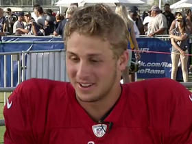 Watch: Jared Goff: I'm learning more everyday