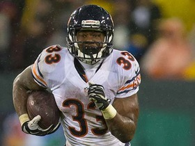 Who will be the Bears' starting running back?
