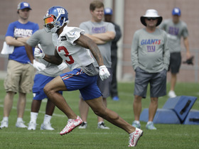 Is Odell Beckham close to 100 percent?