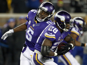 Faulk: Vikings offense with Bridgewater and Peterson can be dangerous
