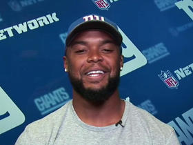 Vereen talks about role with Giants, expectations for 2016