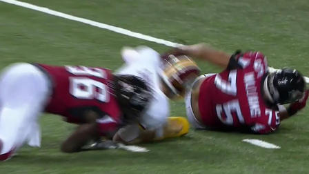 Falcons Nordly Capi and Brandon Williams sack Nate Sudfeld - NFL Videos b034979e7e13