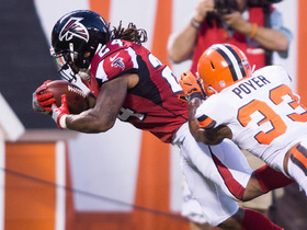 Watch: Devonta Freeman rushes for a 19-yard TD