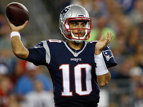 Watch: Jimmy Garoppolo connects with A.J. Derby for touchdown