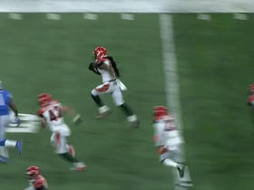 Watch: Floyd Raven with the deep interception