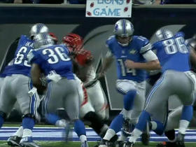 Watch: Dwayne Washington with a 5-yard rushing TD