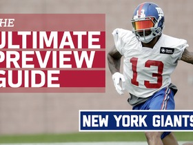 Watch: The Ultimate Preview Guide: New York Giants
