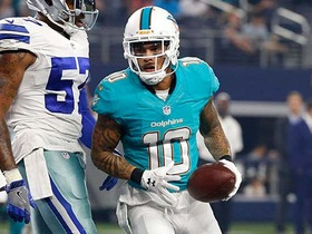 Watch: Kenny Stills pulls in a deep pass from Ryan Tannehill for 55 yards