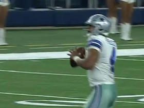 Watch: Dak Prescott connects with Brice Butler for a 58 yard gain