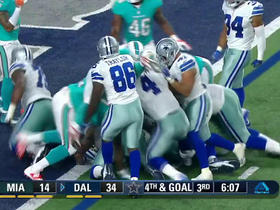 Watch: Dak Prescott leans in for a one-yard touchdown