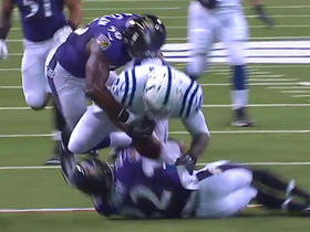 Watch: Eric Weddle recovers Dwayne Allen fumble