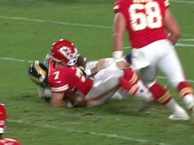 Watch: Jabriel Washington recovers Aaron Murray's fumble