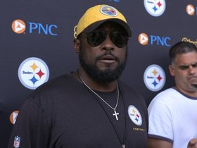 Watch: Tomlin on team's readiness