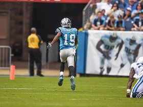 Watch: Ted Ginn off and running