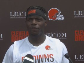 Watch: Josh Gordon: Cleveland is where I want to be