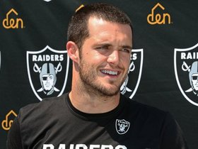 Watch: Carr Speaks to Media As Raiders Prepare for Titans