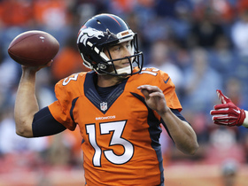 Watch: Palmer: Siemian day-to-day with with sore shoulder