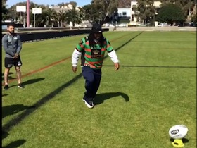 Watch: Welcome to rugby, Beast Mode