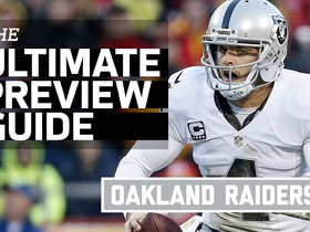 Watch: The Ultimate Preview Guide: Oakland Raiders