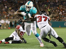Watch: Arian Foster weaves his way in for a Miami touchdown