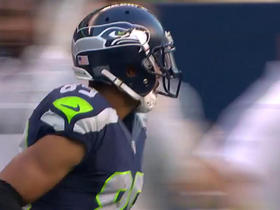 Watch: Russell Wilson connects with Doug Baldwin for a 21-yard gain