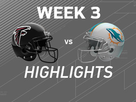 Watch: Falcons vs. Dolphins highlights