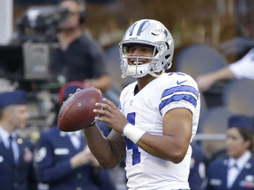 Watch: Dak Prescott continues to shine in preseason