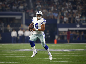 Watch: Prescott steps up after Romo goes down